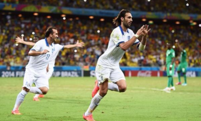 Al 92' Samaras manda la Grecia agli ottavi del Mondiale