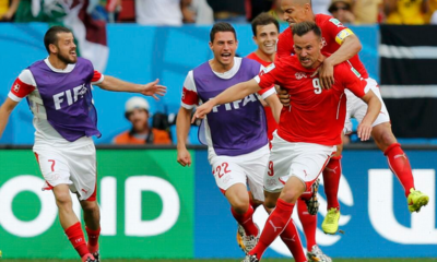 La Svizzera batte l'Ecuador per 2-1