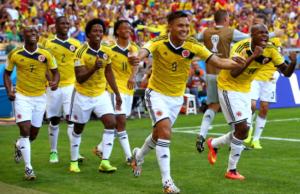 La Colombia agli ottavi di finale del Mondiale