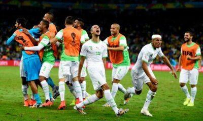 L'ALgeria in festa per il passaggio agli ottavi