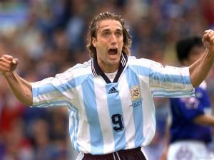 Gabriel Batistuta, protagonista della storia dei Mondiali