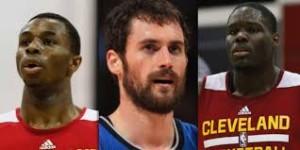 Andrew Wiggins, Kevin Love, Anthony Bennett; protagonisti  del mercato dei Cavs