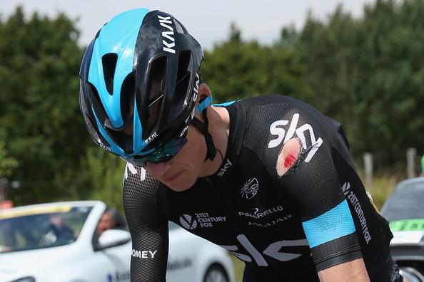 Chris Froome, vincitore del Tour 2013 e autore di una splendida azione nella quattordicesima tappa vinta da Hesjedal
