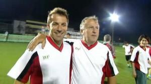 Del Piero abbraccia Zico, futuro al Flamengo?