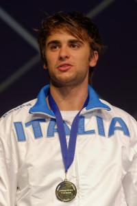 Enrico Garozzo, bronzo nella spada
