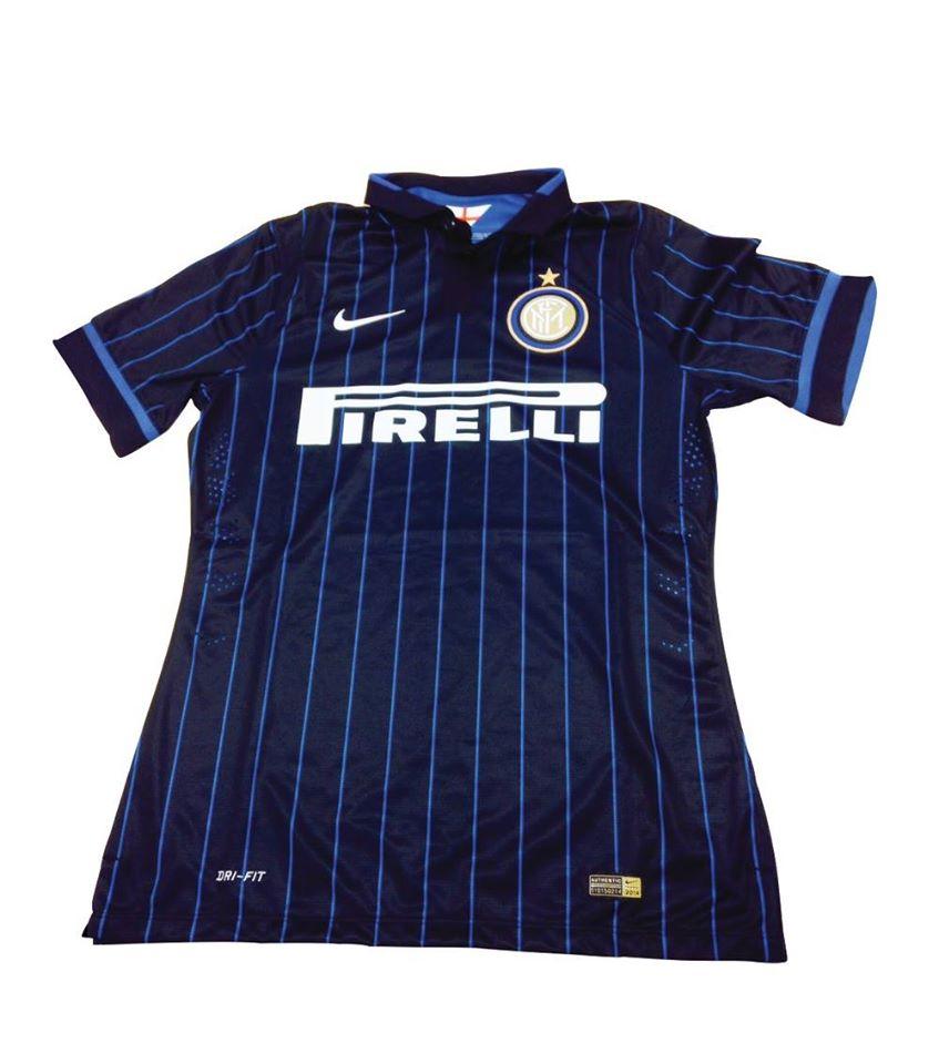 La prima maglia dell'Inter 2014-2015
