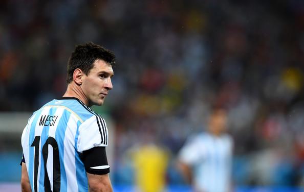 Lionel Messi, attaccante dell'Argentina