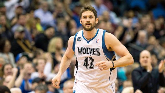 Kevin Love verso Cleveland.