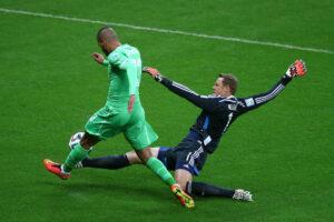 Manuel  Neuer, portiere di Bayern Monaco e Germania. Il tedesco è candidato alla vittoria del Pallone d'oro