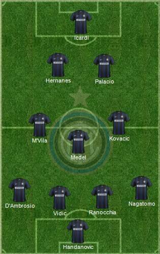 Nuova Inter 2014/15 (4-3-2-1)