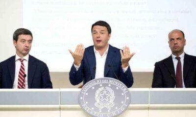 """Renzi presenta la """"non-riforma"""" della giustizia"""