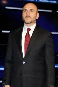 Piero Ausilio, in missione per portare Medel all'Inter