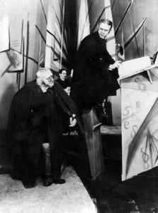 Una scena de Il Gabinetto del Dottor Caligari
