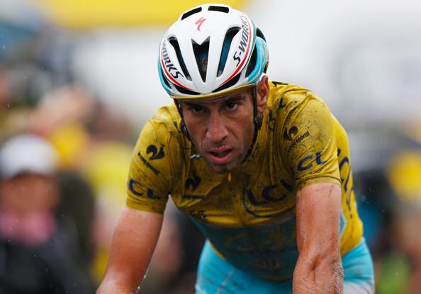 Vincenzo Nibali, vincitore del Tour de France. La squalifica dell'Astana potrebbe impedirgli di difendere il titolo