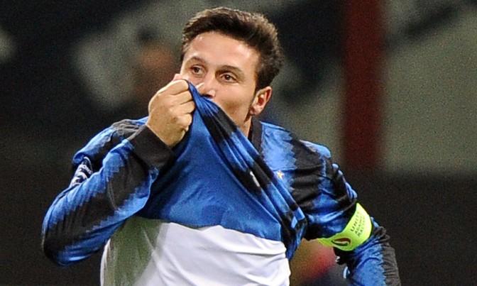 Zanetti, ex capitano dell'Inter