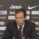 conferenza stampa allegri Milan Juventus