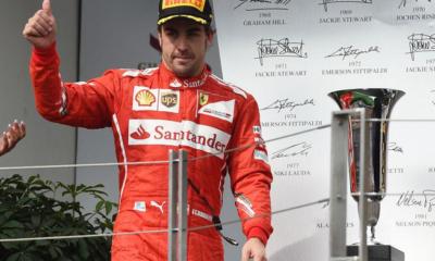 Alonso torna sul podio dopo una gara commovente