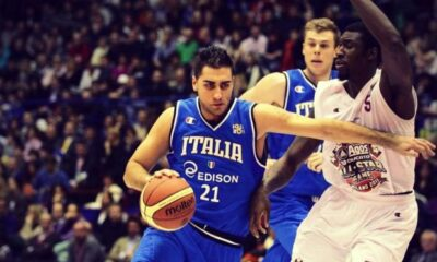 Il cestista azzurro Pietro Aradori