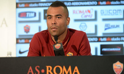 Ashley Cole, finora non ha mai convinto con la Roma