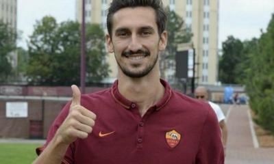 Davide Astori presentato alla stampa come nuovo giocatore della Roma