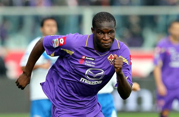 Babacar autore di una doppietta in Fiorentina-Udinese 3-0