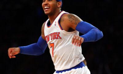 Carmelo Anthony, ala dei New York Knicks