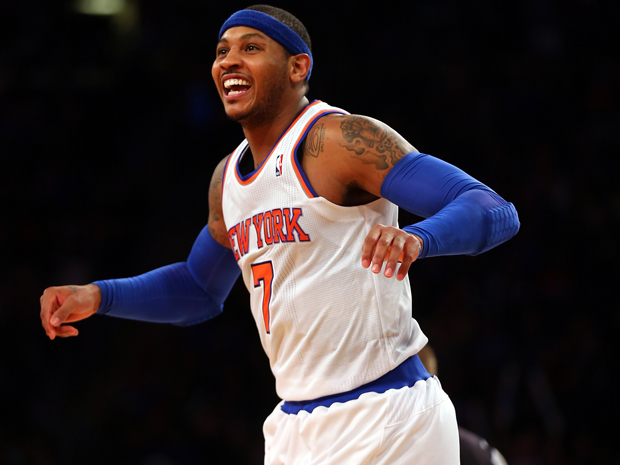 Carmelo Anthony, ala dei New York Knicks
