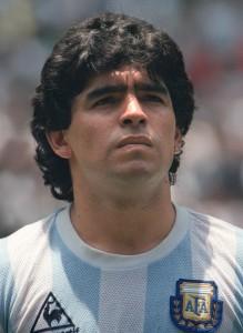 Maradona grande protagonista nel Mondiale dell'Argentina. Era il 1986