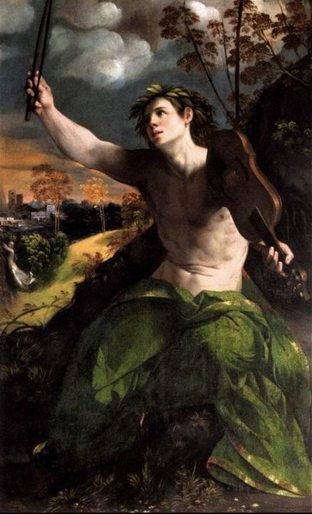"""Dosso Dossi, """"Apollo"""" (1524 ca.), Roma, Galleria Borghese."""