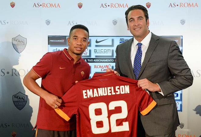 Emanuelson presentato alla stampa