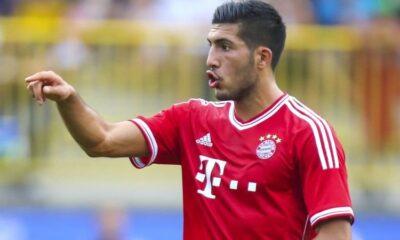 Emre Can con la maglia del Bayern Monaco