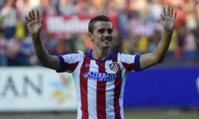 Antoine Griezmann, attaccante dell'Atletico Madrid