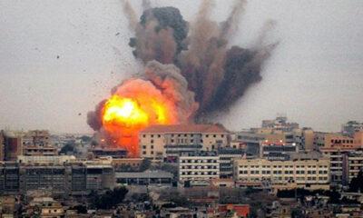 Continuano le offensive sulla striscia di Gaza.
