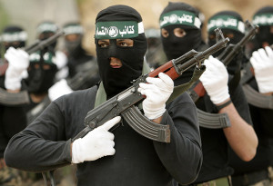 Militari di Hamas nella Striscia di Gaza