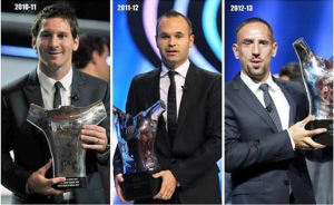 I tre campioni del Best Player in Europe