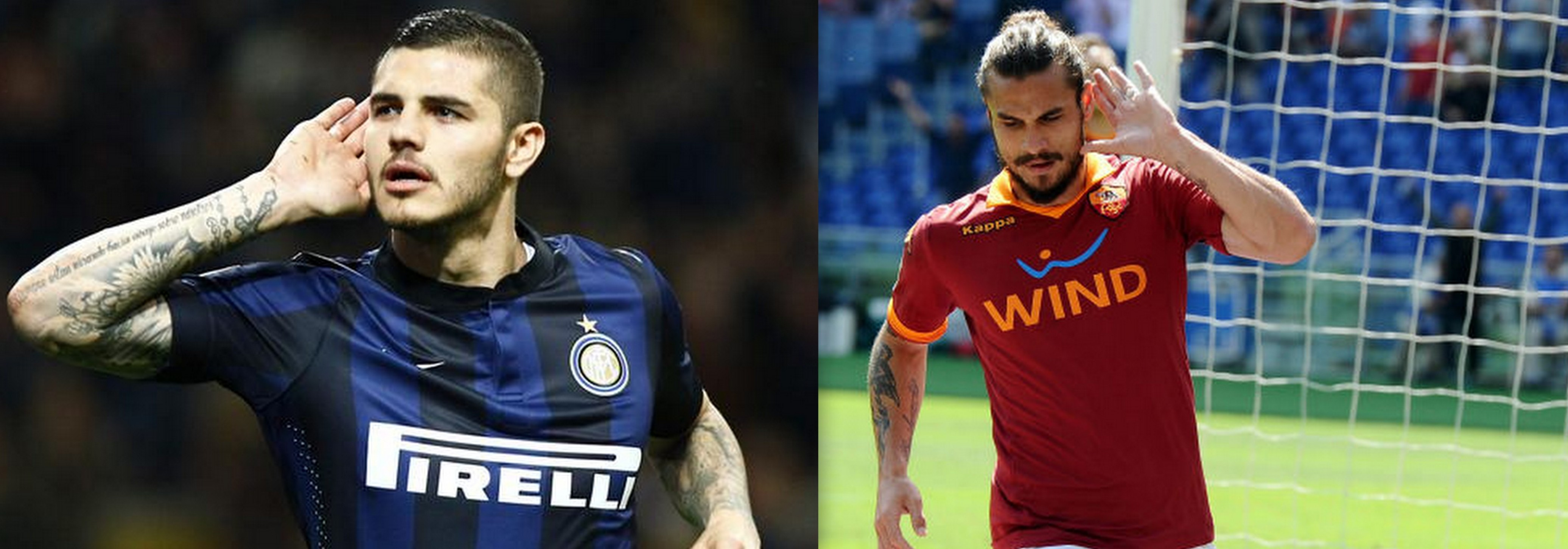 Icardi e Osvaldo, prossimamente insieme all'Inter?