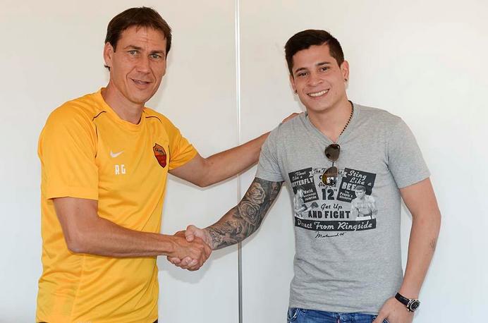 Iturbe, nuovo giocatore della Roma