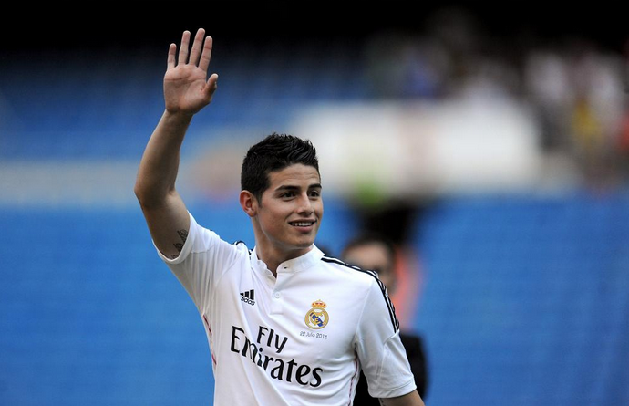 James Rodriguez, esordio in Liga per lui