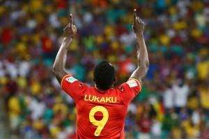 Lukaku ai Mondiali con la maglia del Belgio