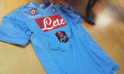 La nuova maglia 2014/2015 del Napoli svelata quest'oggi