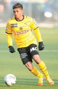 Josef Martinez in aziona con la maglia dello Young Boys