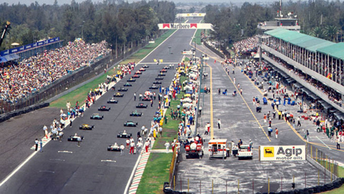 Nella foto: GP di Messico del 1992