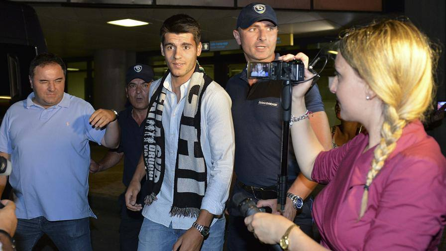 Alvaro Morata nuovo attaccante della Juventus
