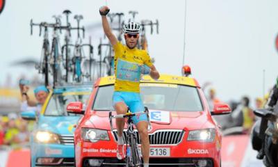 Vincenzo Nibali, corridore dell'Astana