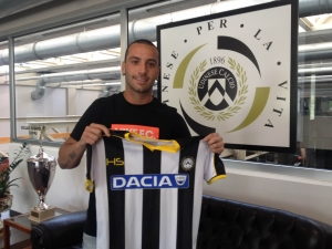 Guilherme, nuovo giocatore dell'Udinese