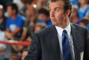 Simone Pianigiani, dal 2009 alla guida della Nazionale Italiana di Basket