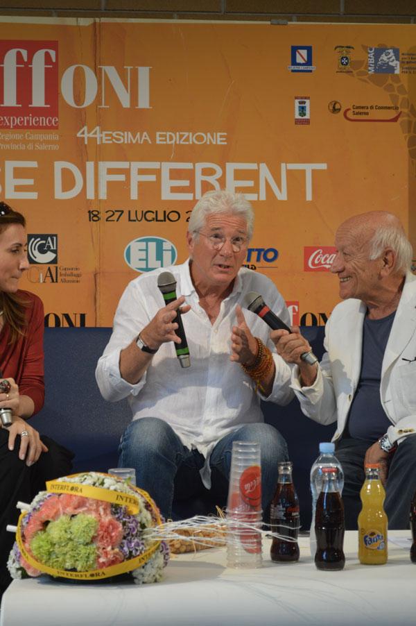 Richard Gere arriva al Giffoni Film Festival