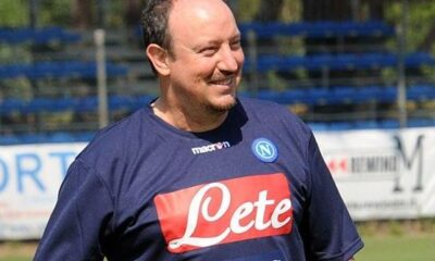 Rafa Benitez, alla sua seconda stagione alla guida del Napoli