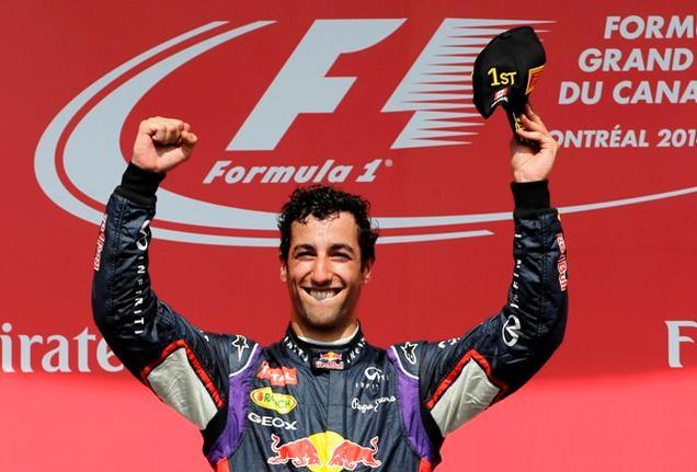 Daniel Ricciardo, 2°successo stagionale per lui in Ungheria