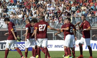 La Roma batte 3-1 l'Indonesia U23 in amichevole